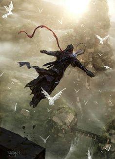 Assssin's Creed - leap of faith