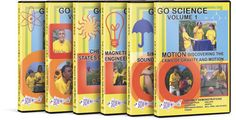 Go Science 6-Vol DVD Collection