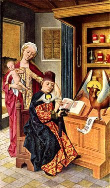 Luke and the Madonna, Altar of the Guild of Saint Luke, Hermen Rode, Lübeck Medieval Paintings, European Paintings, Medieval Life, Medieval Art, Medieval Castle, Medieval Manuscript, Illuminated Manuscript, Renaissance, Luke The Evangelist
