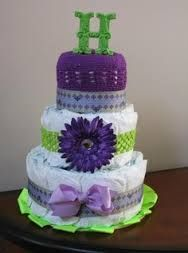 Image result for girl diaper cakes crochet