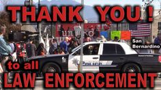 After the Terrorist Attack - Thank You to all Law Enforcement