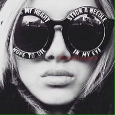HouseofHolland Cross My Heart Sunglasses House of Holland inspired sunglasses with all black plastic frame and light lettering around front. Round shape. Original style seen on Rita Ora, Kat Von D and many more! KISS Accessories Sunglasses