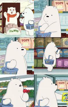 Bear white wallpaper for you ©