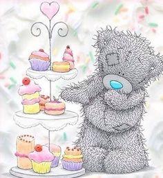 Tatty Teddy, Teddy Bear Images, Teddy Bear Pictures, Kids Cartoon Characters, Cute Characters, Teddy Beer, Teddy Hermann, Birthday Wishes, Happy Birthday