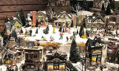 ... 56 - Original Snow Village Series Display by Department 56, via Flickr