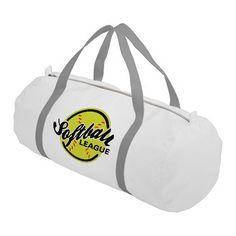 b3b59975276a Softball League - Gym Duffel Bag Mens Gym Bag