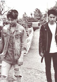 SCAN #Xiumin #Kyungsoo #EXO Dear Happiness #Photobook