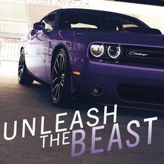 Unleash the beast.  #Dodge