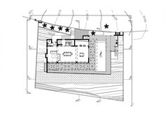 Desi Residence : A House With Unique Car Garage Park on Top of The House in Cyprus Island : Plans Sketch Desi Residence 4