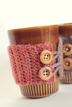 super simple custom-fit crocheted cozies