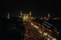Kadhmain_Holy shrines of Imam Musa Al Kazim and Imam Jawad. Baghdad, Iraq