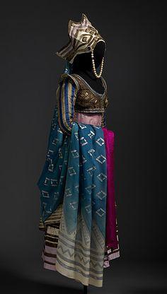 Léon BAKSTLES BALLETS RUSSES DE SERGE DIAGHILEVMarie MUELLE, Costume for Queen Thamar