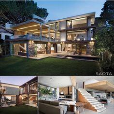 Glen 2961 Mesmerizing Residence by SAOTA + Plans & Sections