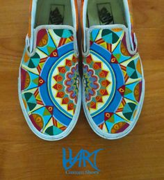 zentangle hand-painted shoes.... my two favorite things!
