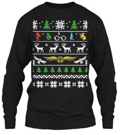 Ugly Sweater Shirt | Teespring: OMG IT'S NOT EVEN UGLY. HOW CUTE. HARRY POTTER 'UGLY SWEATER' SHIRT.
