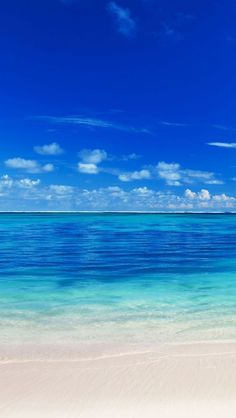 Wallpaper Android - Peaceful Ocean Sea Blue Lovely & I will Want to be here in the Beach Right Now. - Wallpaper World
