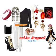 """Natsu Dragneel"" by aliazuras on Polyvore"