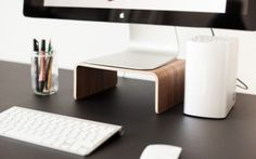 A Table Stand bring your Monitor to Eye Level