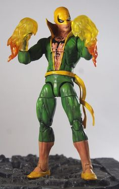Iron Fist marvel legends custom | Toys & Hobbies, Action Figures, Comic Book Heroes | eBay!