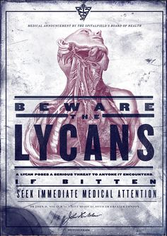 Beware the Lycans poster, The Order 1886