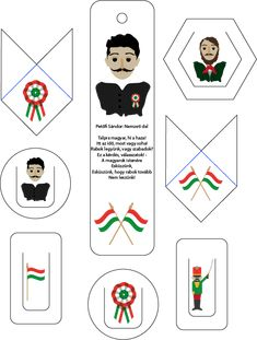 Könyvjelzők Március 15-e alkalmából Diy And Crafts, Crafts For Kids, School Play, Spring Crafts, Coat Of Arms, Bookmarks, Recycling, Projects To Try, March