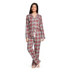 b1969bf03a Women s Pajama Set Red  amp  Gray Plaid - Gilligan  amp  O Malley®