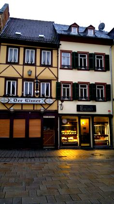 Wiesbaden - Germany. Spent many evenings at the Eimer.......