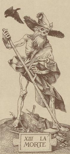 XIII. Death: Tarocchi Dürer