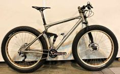 Ti Cycles Full Suspention Fat Bike #fatbike #bicycle