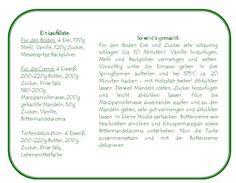 Marzipantorte mit Swiss Meringue - Das Knusperstübchen