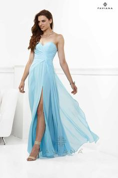 Prom dress by Faviana