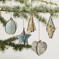 Well-Mapped Christmas Ornaments