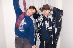Matthew Gray Gubler & Jared Leto, pics by Terry Richardson