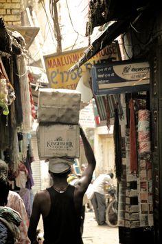 Street Scene in Varanasi, India