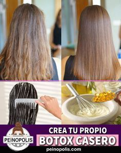 HOME BOTOX A very effective treatment for battered hair Natural Hair Mask, Natural Hair Styles, Long Hair Styles, Korean Beauty Routine, Beauty Routines, Cabello Hair, Colored Hair Tips, Strong Hair, Beauty Tricks