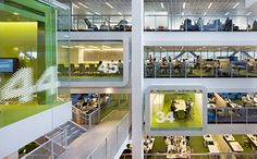 Macquarie Group Sydney / Designed by EGG Office.