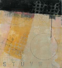 "Sustainable Peace, by Anne Moore, monotype, 16""X14"""