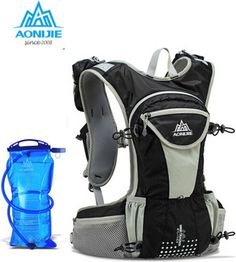 AONIJIE 12L Cycling Backpack Cross-country Running bag Ultralight Outdoor Sports Hiking Travel Hydration mini Bicycle Backpacks
