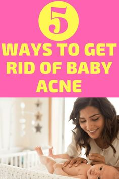 What Causes Baby Acne? Simple Ways to Help It Clear Up There is so much to learn when you are parenting a newborn! Learn all about baby acne which is very common in young infants. How to deal skin issues and address them in your newborn care routine. Baby Acne, Baby Skin, Toddler Milestones, Colic Baby, Best Baby Toys, Baby Driver, Baby List, Baby Development, Newborn Care