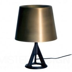 Lampe de table Base Tom Dixon - Or Stand Light, Tom Dixon, Light Table, Tripod Lamp, Lamp, Floor Lights, Brass Table Lamps, Contemporary Table Lamps, Gold Table Lamp