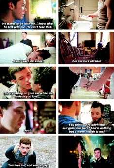 Ian and Mickey - sad moments