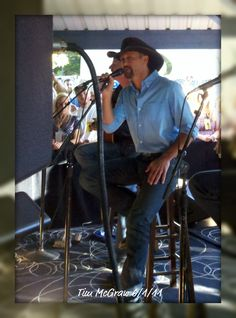 Tim McGraw. June 2011 San Manuel Ampitheater. Private pre party. It was so good!