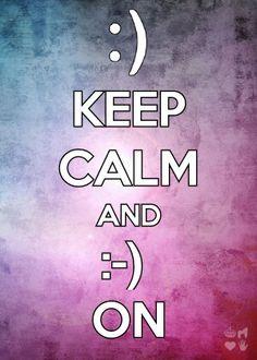 Lol smile on :-)