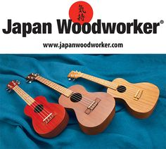 A ukulele is a great place to start, both as a new musician and as a new builder looking for that first project. This kit from Stewart-MacDonald is simple, easy and a ton of fun to make (plus, it sounds amazing!) No woodworking experience required! These kits come in concert, soprano, and tenor sizes!