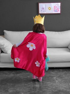 Kids cape Pretend play Princess cape Fairy cape by CrafterMama
