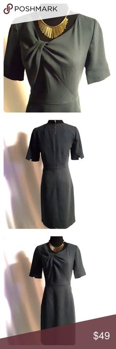 """**1 Hour SALE**J Crew, grey dress, size 0 J Crew, grey dress, size 0 Great for work or play, classic design that will be sure to keep this dress as a """"staple"""" in your closet for years to come! J. Crew Dresses Midi"""