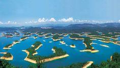 Décidez quelles îles vous allez explorer au lac des Milles-îles,  en Chine