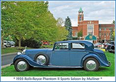 1935 Rolls-Royce Phantom II Maintenance/restoration of old/vintage vehicles: the material for new cogs/casters/gears/pads could be cast polyamide which I (Cast polyamide) can produce. My contact: tatjana.alic@windowslive.com