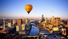 Melbourne  by Global Ballooning- Melbourne & Yarra Valley, via Flickr