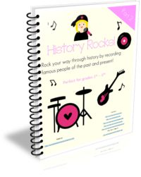 History Rocks Part 2 Curriculum: A year long curriculum about women who rocked the world past and present.